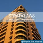 Strata Laws Online Consultation report cover