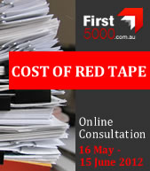 Cost of Red Tape consultation logo