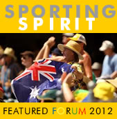 Sporting Spirit featured forum 2012