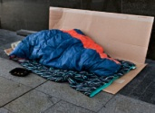 Homeless person (Getty Images)