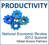 Productivity: National Economic Review: 2012 Growth Summit