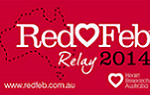 RedFeb Relay 2014 logo