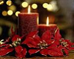 Candles festive season
