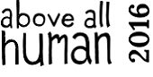 Above all human 2016 logo